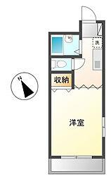 プロローグマンション[3階]の間取り