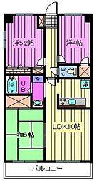 新田第11ビル[10階]の間取り