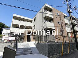 千葉県松戸市北松戸2丁目の賃貸アパートの外観