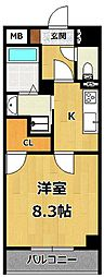 仮称)LOCUS1 南武庫之荘1丁目新築[305号室]の間取り