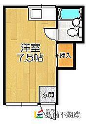 アパートメント12[205号室]の間取り