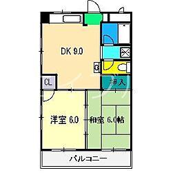 細木ビル[3階]の間取り