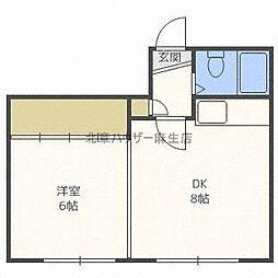 VIV HOUSE[1階]の間取り