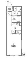 ZESTY駒沢大学II[3階]の間取り