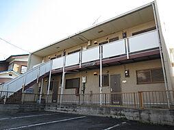 埼玉県熊谷市拾六間の賃貸アパートの外観
