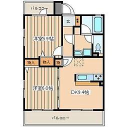 サンバレー上大岡VI[2階]の間取り