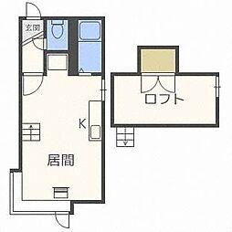 クリエイト澄川I[3階]の間取り