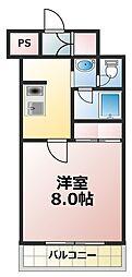 グランシャルマン新大阪[3階]の間取り