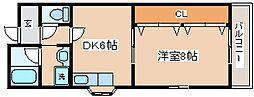 兵庫県神戸市長田区海運町3丁目の賃貸マンションの間取り