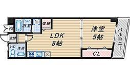 冨士メイトマンション[207号室]の間取り