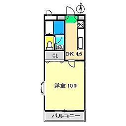 アメーヌセゾンIII[1階]の間取り