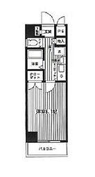 NOWA BUILD.III[605号室]の間取り