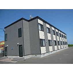 北海道登別市栄町2丁目の賃貸アパートの外観