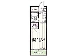 東京都日野市程久保8丁目の賃貸マンションの間取り