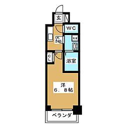 S RESIDENCE鶴舞[9階]の間取り
