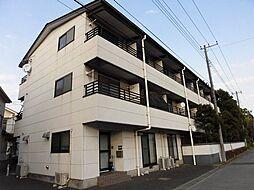 埼玉県草加市花栗3丁目の賃貸マンションの外観