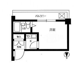 フォート子安[4階]の間取り
