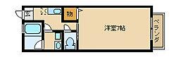 グランディーノ湘南2[206号室]の間取り