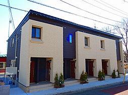 東京都福生市武蔵野台1丁目の賃貸アパートの外観