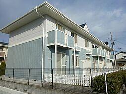 兵庫県姫路市飾磨区蓼野町の賃貸アパートの外観