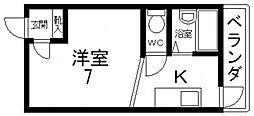 清洲プラザ高井田[902号室号室]の間取り