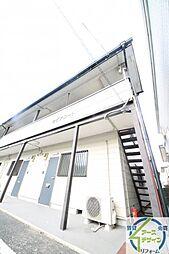 兵庫県明石市大久保町森田の賃貸アパートの外観