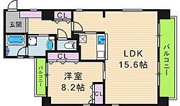住真田山EAST[2階]の間取り