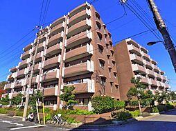 東京都足立区六月3丁目の賃貸マンションの外観