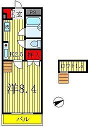 センチュリービル[4階]の間取り