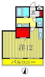 セレニティーホームズ B[1階]の間取り