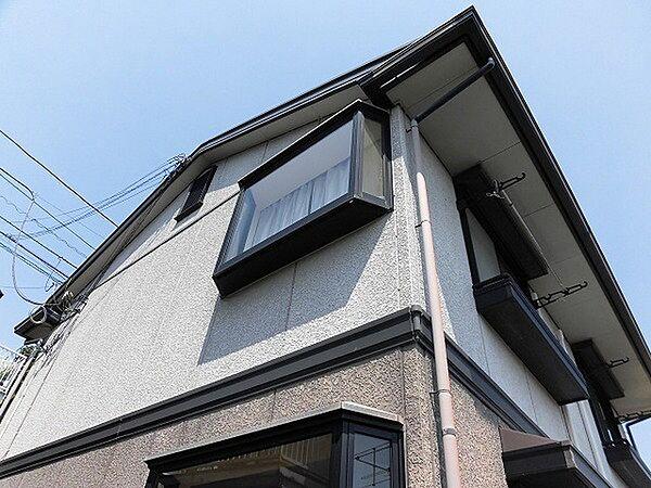 神奈川県川崎市麻生区細山3丁目の賃貸アパートの外観