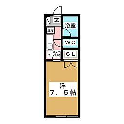 Kステージ[1階]の間取り