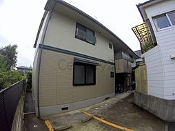 兵庫県川西市久代3丁目の賃貸アパートの外観