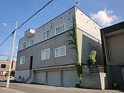 北海道札幌市東区北二十一条東19丁目の賃貸アパートの外観