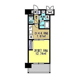 MANAKA BLD[402号室]の間取り
