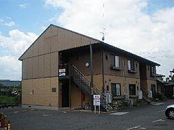 福岡県中間市岩瀬西町の賃貸アパートの外観