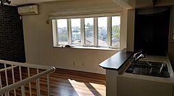 長原4分 築10年 二世帯住宅対応型 車庫1台 ルーバルつき 2LDKの居間