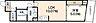 間取り,1LDK,面積36.13m2,賃料9.2万円,JR山陽本線 広島駅 徒歩10分,広島電鉄1系統 銀山町駅 徒歩3分,広島県広島市中区銀山町