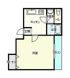 アヴァンセ[3階]の間取り
