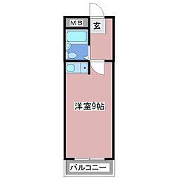 ラフラタニテ[3階]の間取り