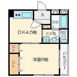 新大阪和光ビル[5階]の間取り