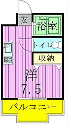 ジュネパレス松戸第02[304号室]の間取り