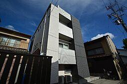 愛知県名古屋市中村区中村町4丁目の賃貸アパートの外観