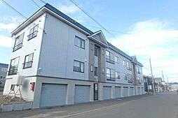 北海道札幌市北区屯田七条12丁目の賃貸アパートの外観