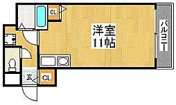中谷ビル[6階]の間取り