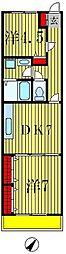マルシェT・K[1階]の間取り