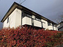 ラポール波須A[2階]の外観