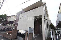 埼玉県草加市神明2の賃貸アパートの外観