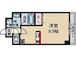 アネシスフナキ[2階]の間取り