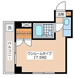小野崎ビル[201号室]の間取り
